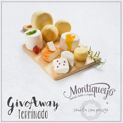 GiveAway COMIDAcomPAIXAO e Montiqueijo 2016