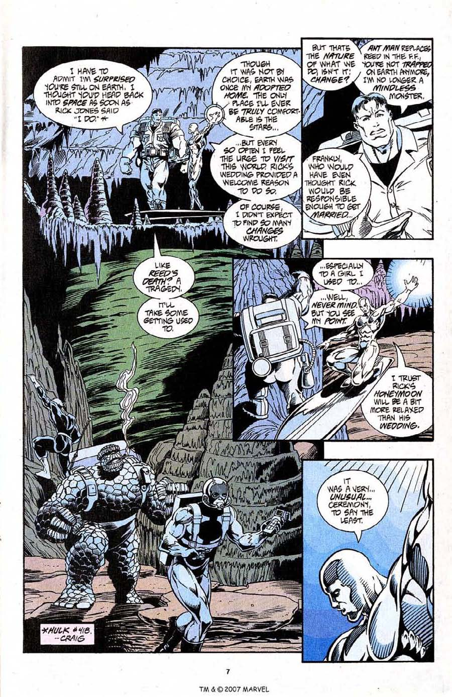 Read online Silver Surfer (1987) comic -  Issue #96 - 9