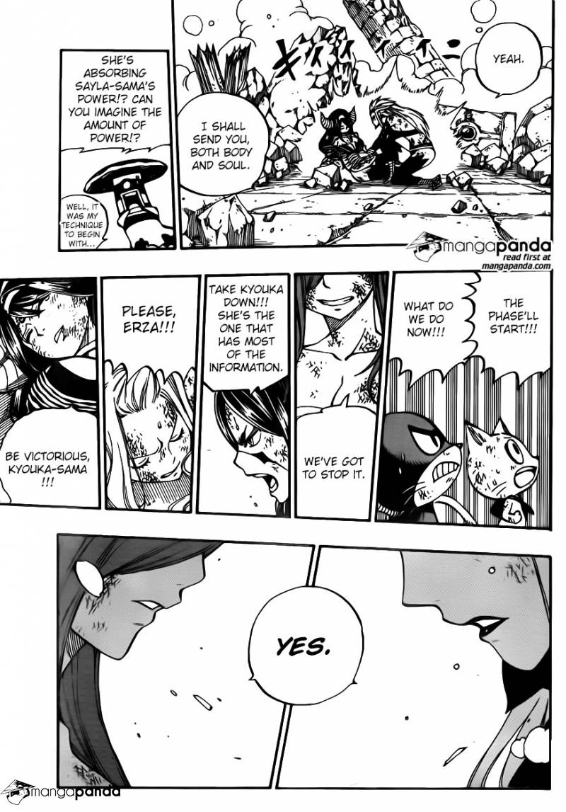 Fairy Tail Ch 398: The Last One-on-One
