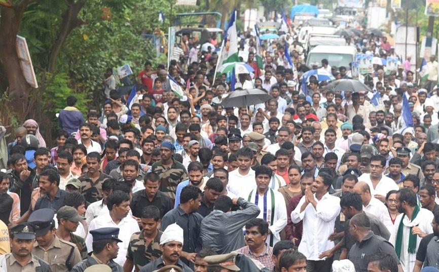 Image result for jagan padayatra