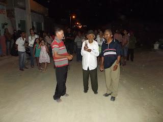 Aos 101 anos morador de Baraúna participa de evento religioso