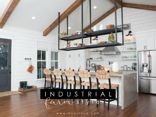 Industrial farm house by Habitan2 | Estilo nórdico industrial en una granja