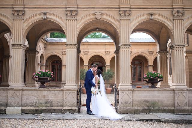 Fleuriste mariage Lyon, flou sentimental, château de Saint Trys