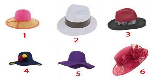 Выберите шляпку и узнайте, что думают о Вас мужчины! Забавный тест, который расскажет о Вас нечто интересное