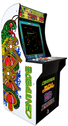 Centipede Arcade Game from Arcade1Up