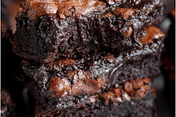 Best Fudgy Cocoa Brownies #browniesrecipe #desserts