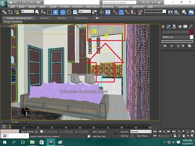 membuat cahaya vray light interior - desain rumah minimalis