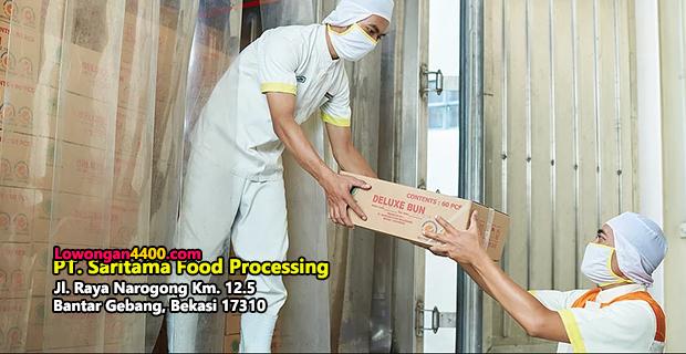 Lowongan Kerja PT. Saritama Food Processing Bekasi