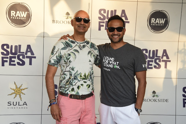Rajeev Samant, CEO and Founder, Sula Vineyards along with Anuj Rakyan, C...