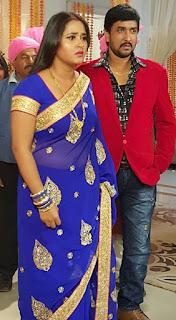 kajal raghwani sanjay pany shoot aashiq aawara film.jpg