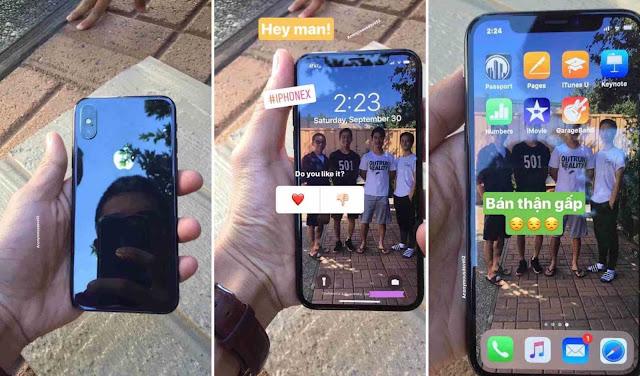 iPhone X  بصور ديناميكية جديدة