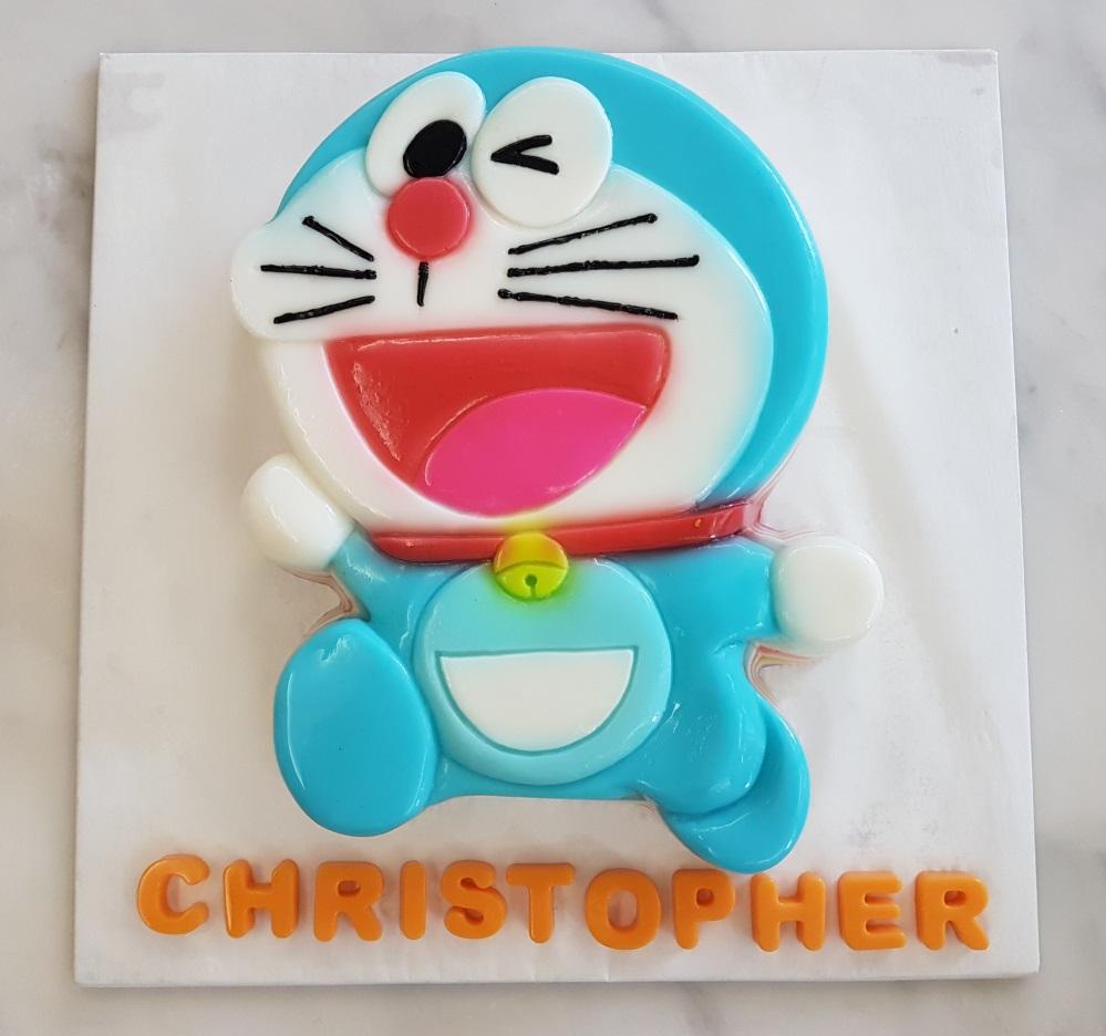 Yochana s Cake Delight! : Doraemon jelly