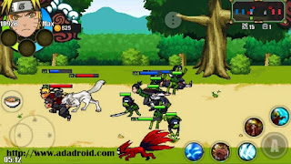 Download Naruto Senki Mod NSUNS 4 v1.17 by Reki Apk
