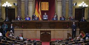Η ολομέλεια του περιφερειακού Κοινοβουλίου της Καταλονίας