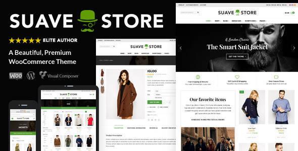 Suave - Multi-Purpose WooCommerce Theme - eCommerce WooCommerce