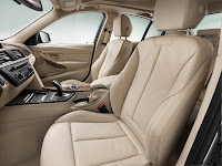 2013 BMW 3-Series (F30) 320d Sedan Modern Line: Interior Detail: Front Seats