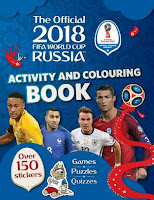 Books: The Official 2018 FIFA World Cup Russia Activity and Colouring Book by Emily Stead (Age: 6+ years)