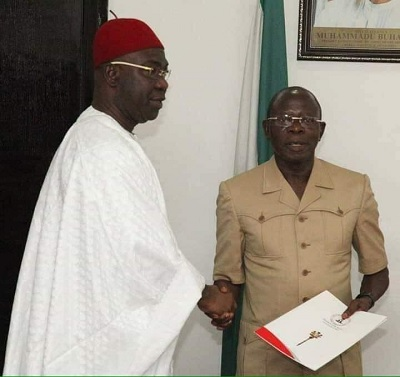 Ike Ekweremadu and Oshiomhole