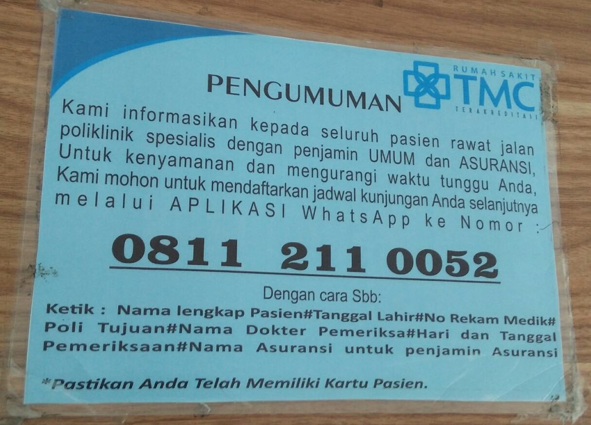 Alamat Lengkap Rumah Sakit Tmc Tasikmalaya Dan Jadwal Dokter