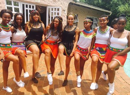 Minnie Dlamini Shows That She S A Proud Zulu Lady Mzansi