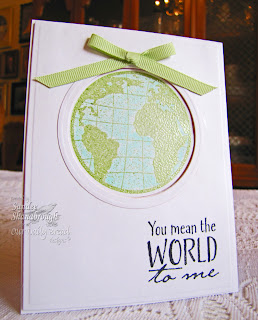Stamps - Our Daily Bread Designs The Earth, ODBD Custom Circle Ornament Dies