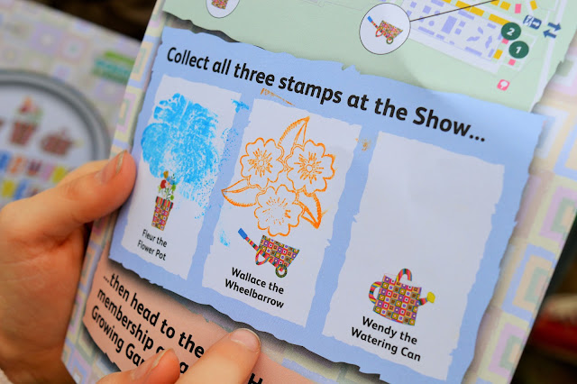 Booklet with stamps inside.