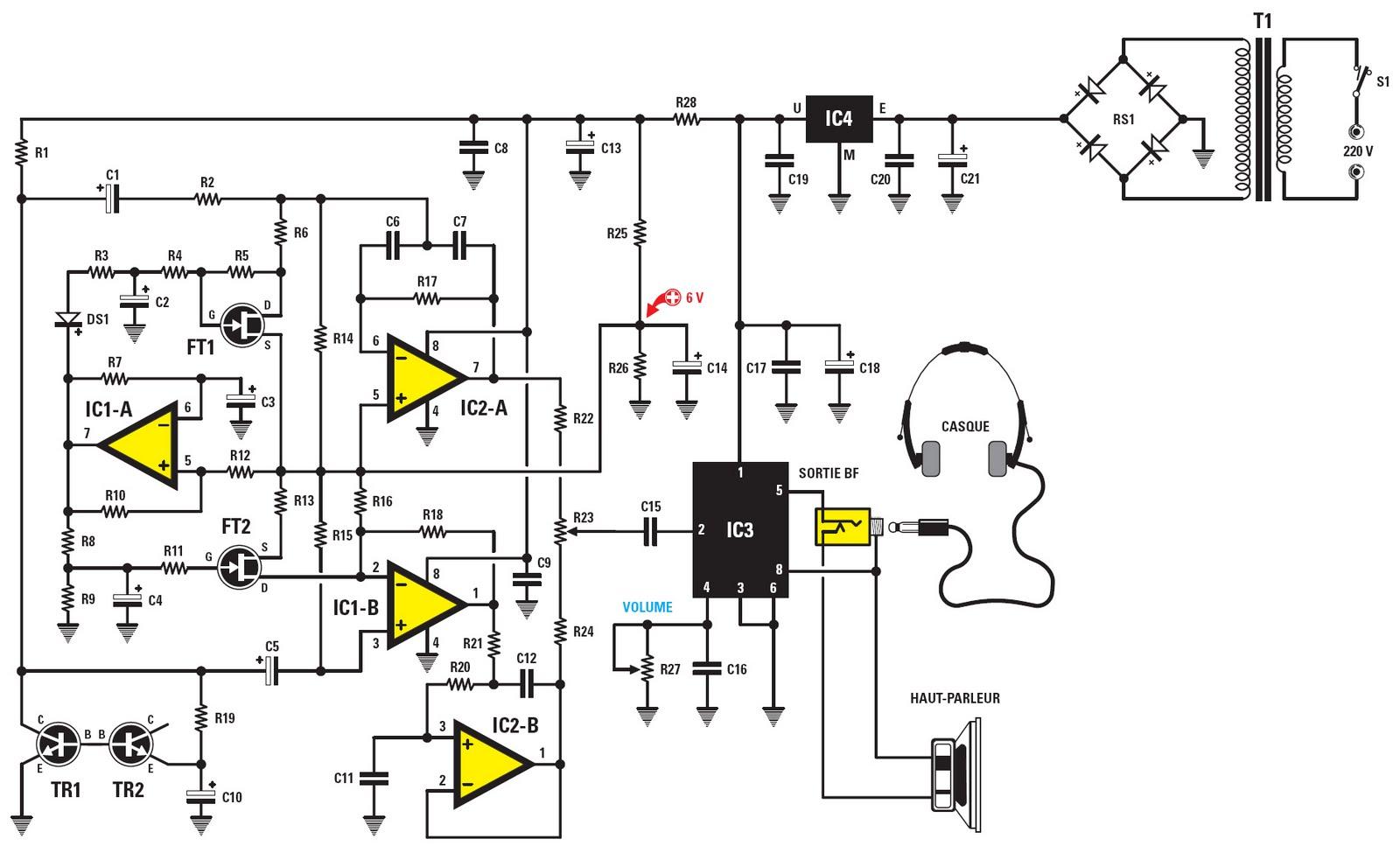 Figure 1 Schema Electrique Du Generateur D Ondes