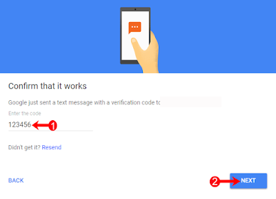 how to on google gmail 2 step verification