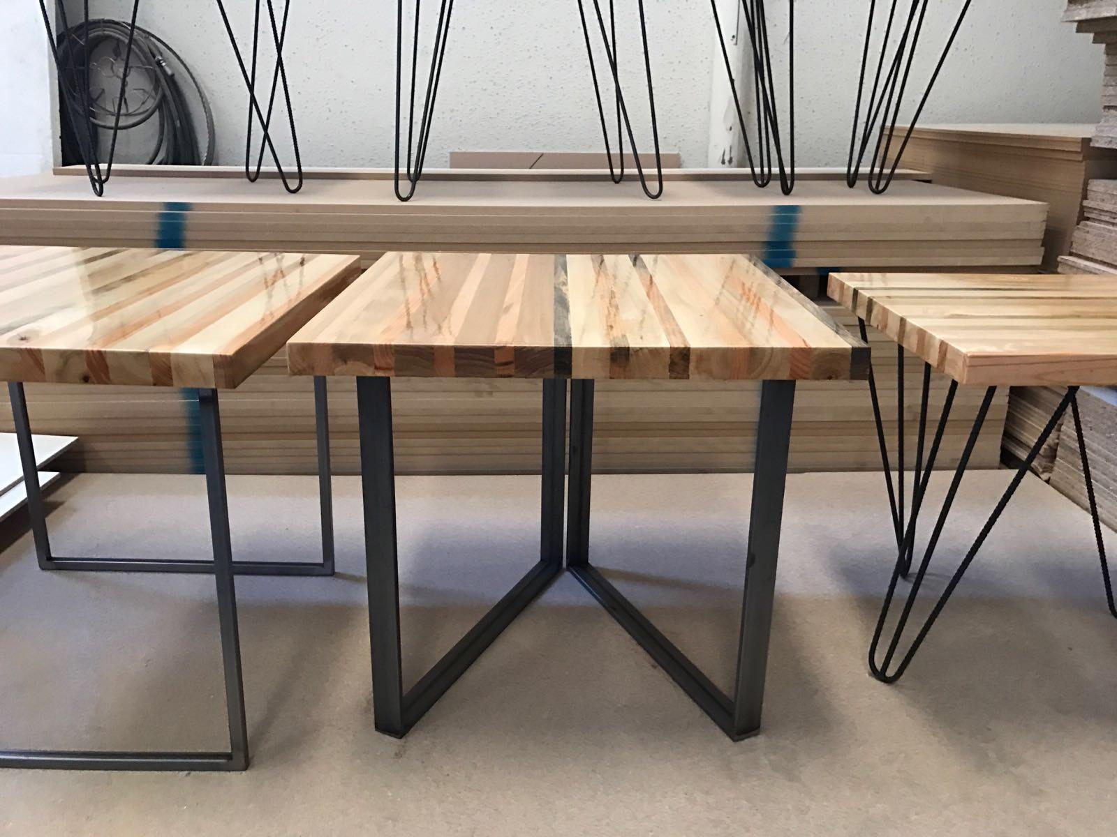 Artesan a del metal muebles industriales a medida for Muebles industriales metal baratos