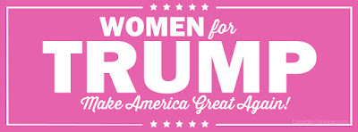 Facebook Banner Of Women Supporting Donald Trump.