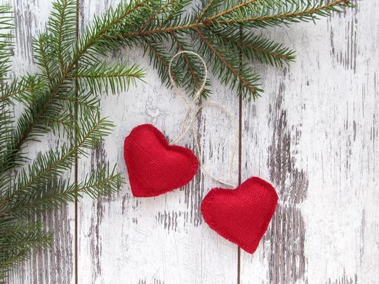 red hearts, сердечки, декор