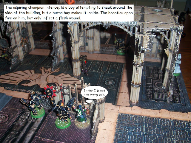 warhammer kill team battle report heretic astartes chaos space marines orks
