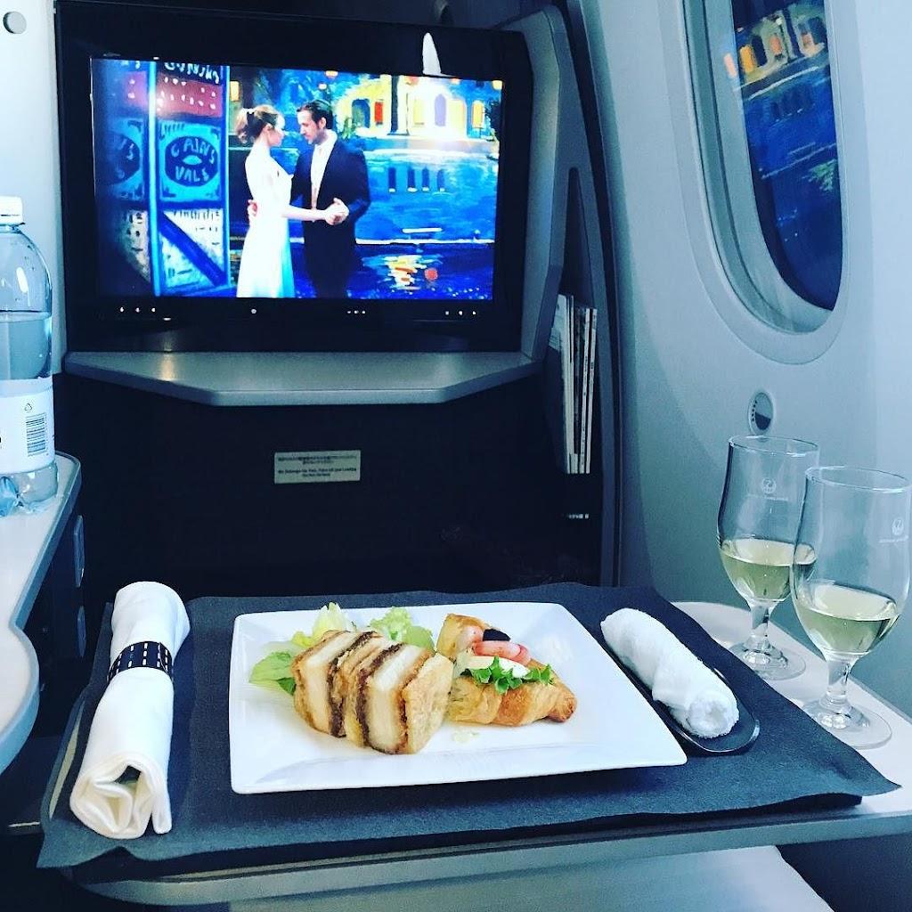 日本航空・JALのビジネスクラス機内食