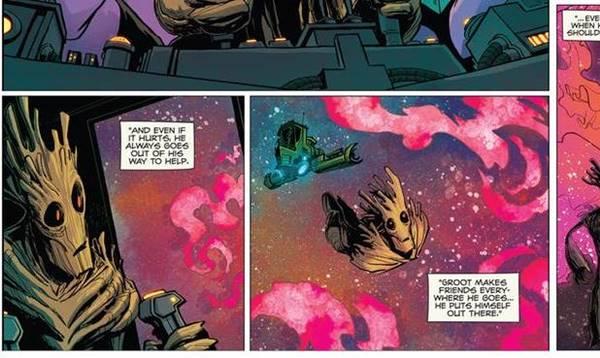 Top 15 Kekuatan Groot (Marvel Comics)