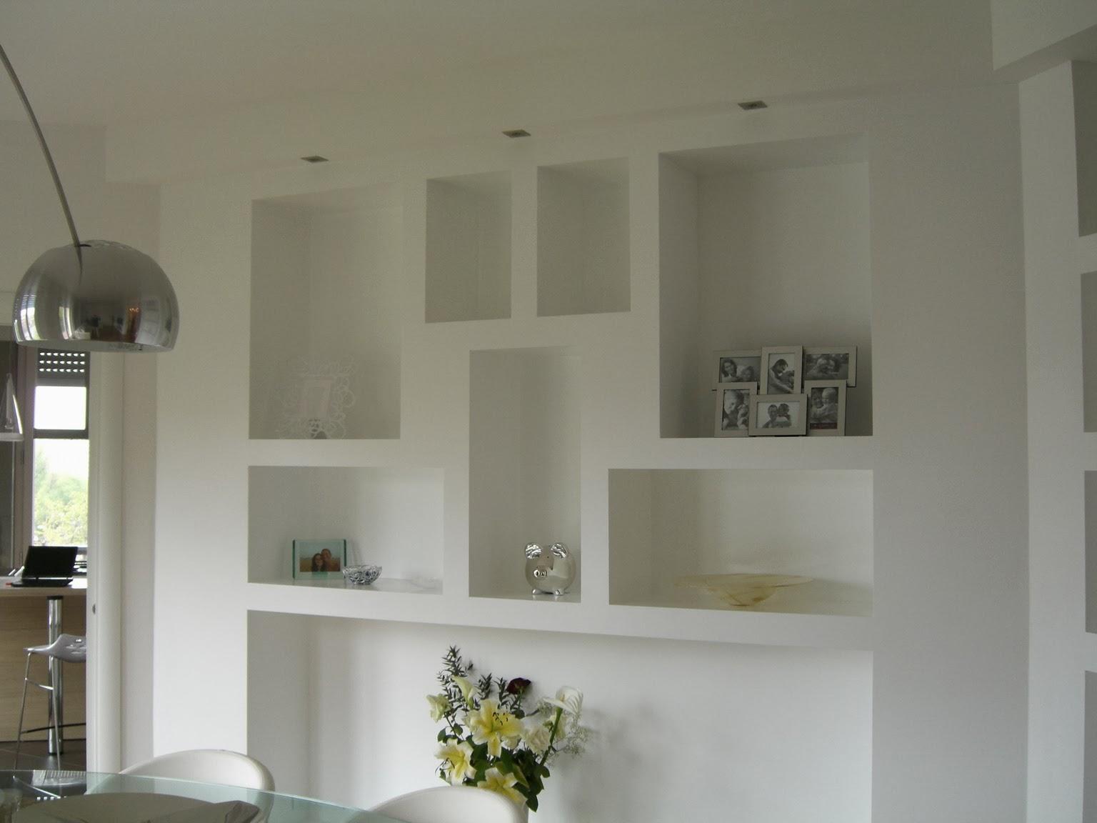 Il cartongesso infiniti modi di creare ti arredo casa for Parete soggiorno cartongesso