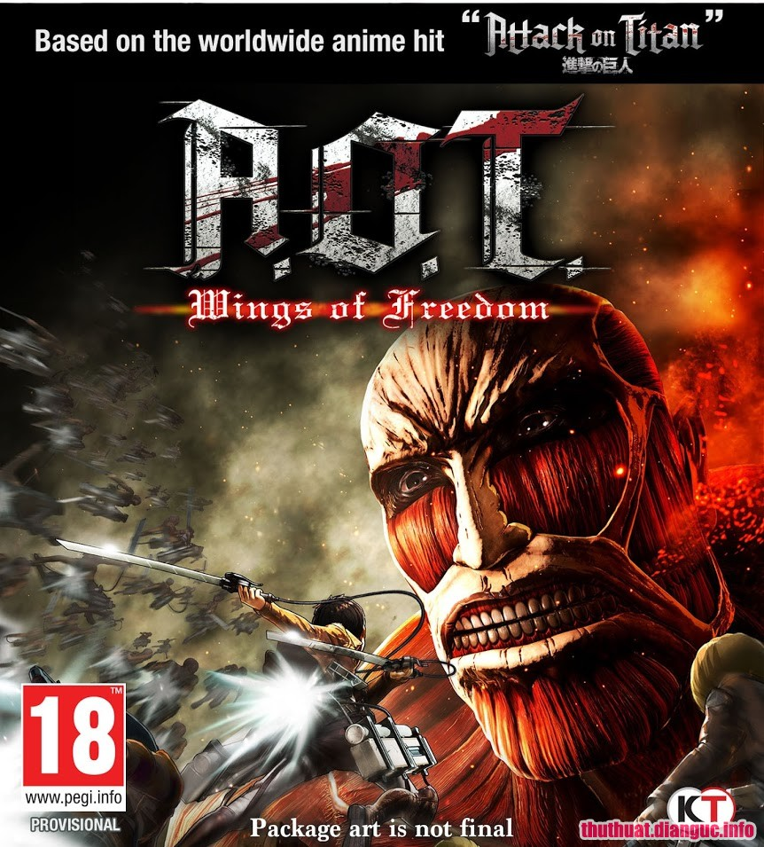 Download Game Attack on Titan / A.O.T. Wings of Freedom Full Cr@ck