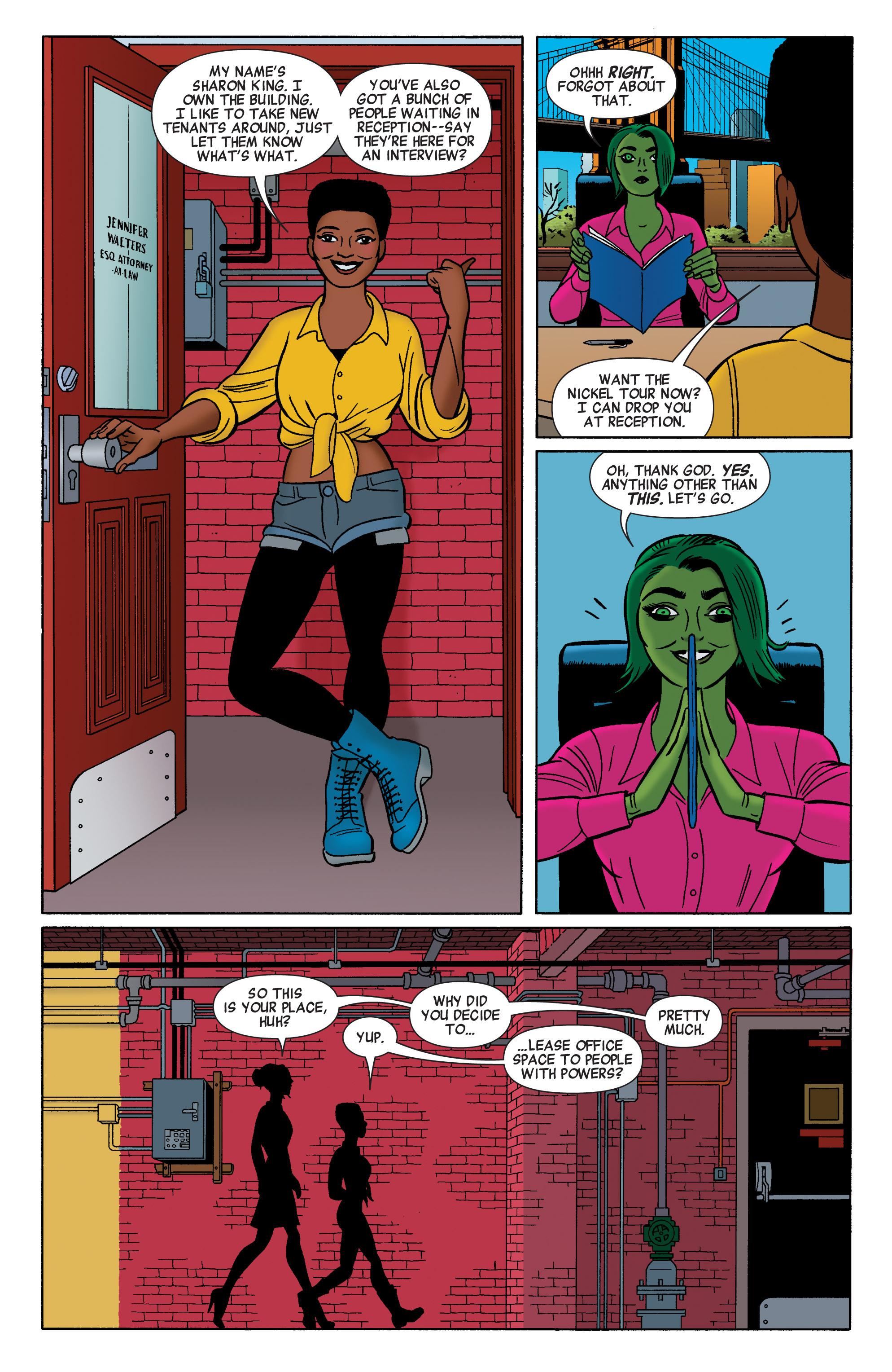 Read online She-Hulk (2014) comic -  Issue #2 - 5