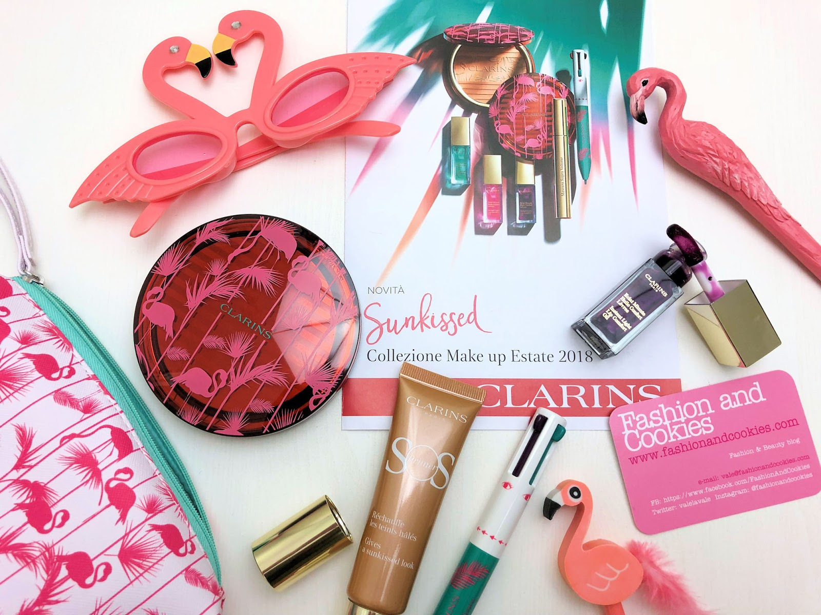 Clarins collezione makeup Estate 2018: Sunkissed su Fashion and Cookies fashion blog, fashion blogger style