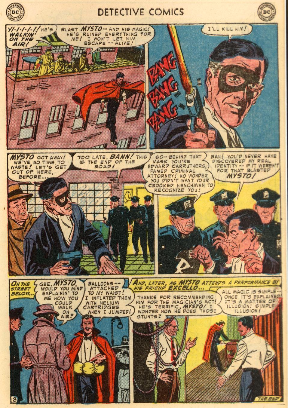 Read online Detective Comics (1937) comic -  Issue #207 - 35