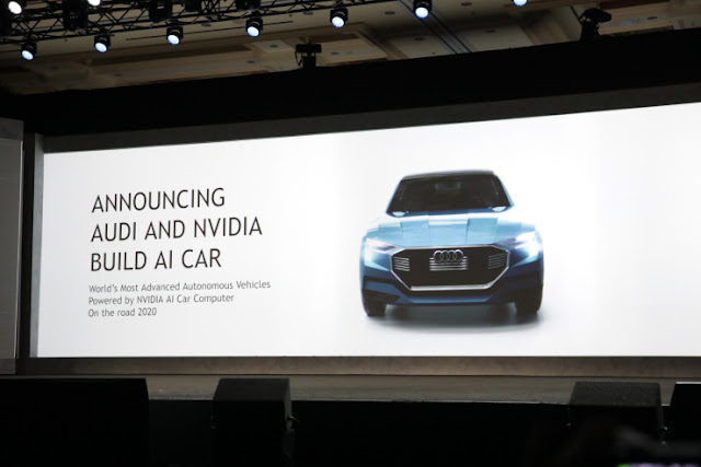 Audi Is Using Nvidia Tech to Bring Self-Driving Cars to Market by 2020