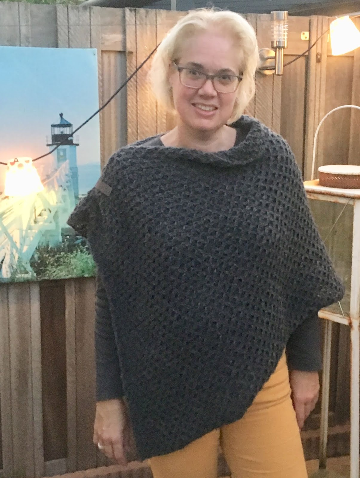 Sunny Designs Breipatroon Wooladdicts Poncho
