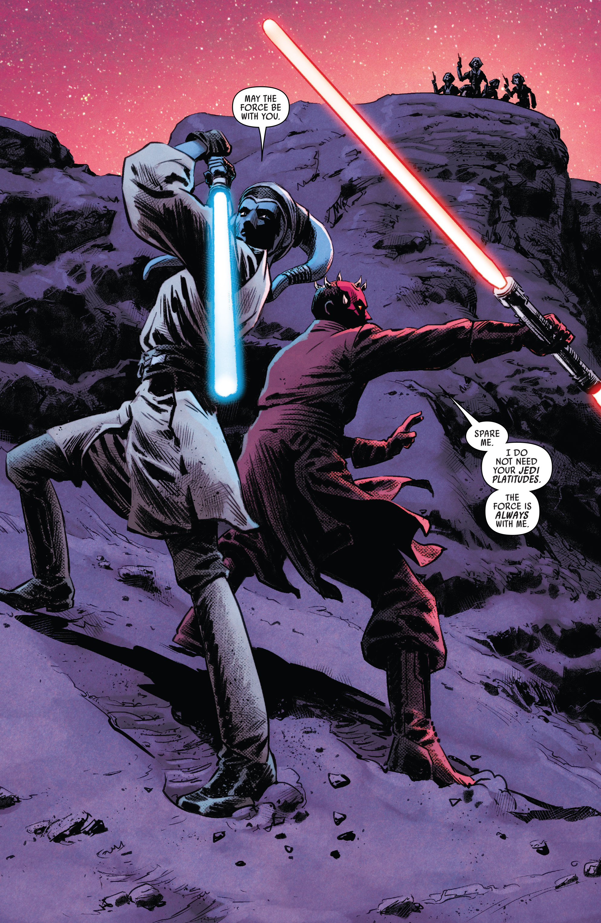 Read online Darth Maul comic -  Issue #4 - 11