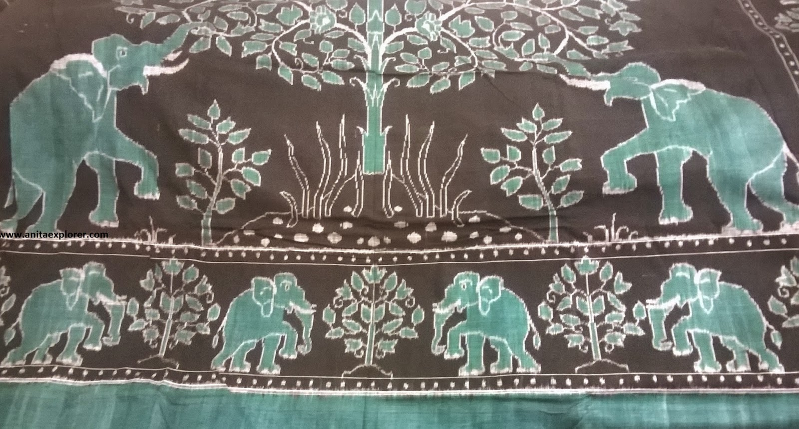 Odisha-Sambalpuri-Bedsheet