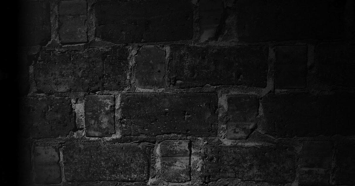 3d Tunnel Wallpaper Zwarte Stenen Muur Achtergrond Bureaublad Achtergronden