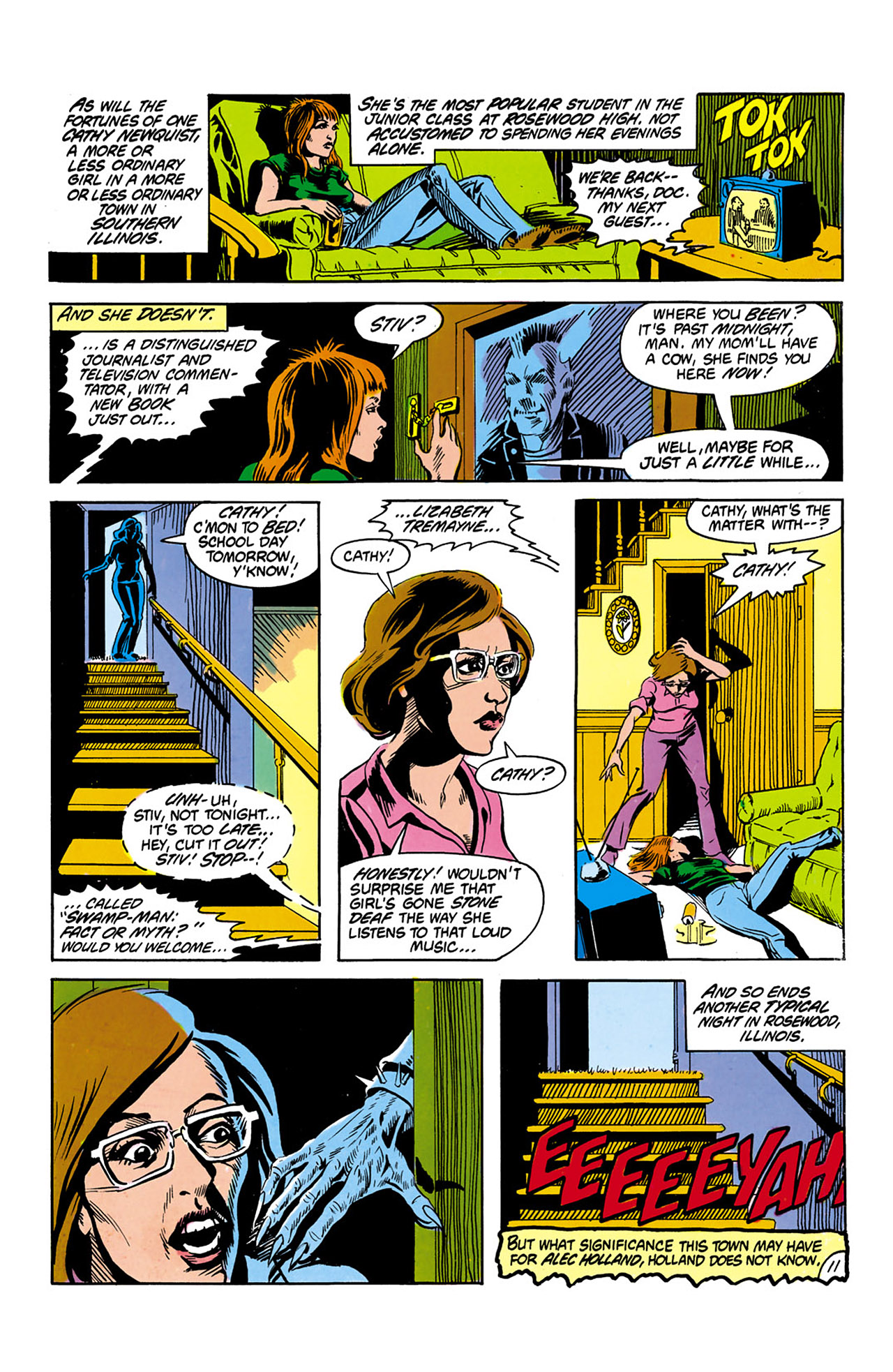 Swamp Thing (1982) Issue #2 #10 - English 12