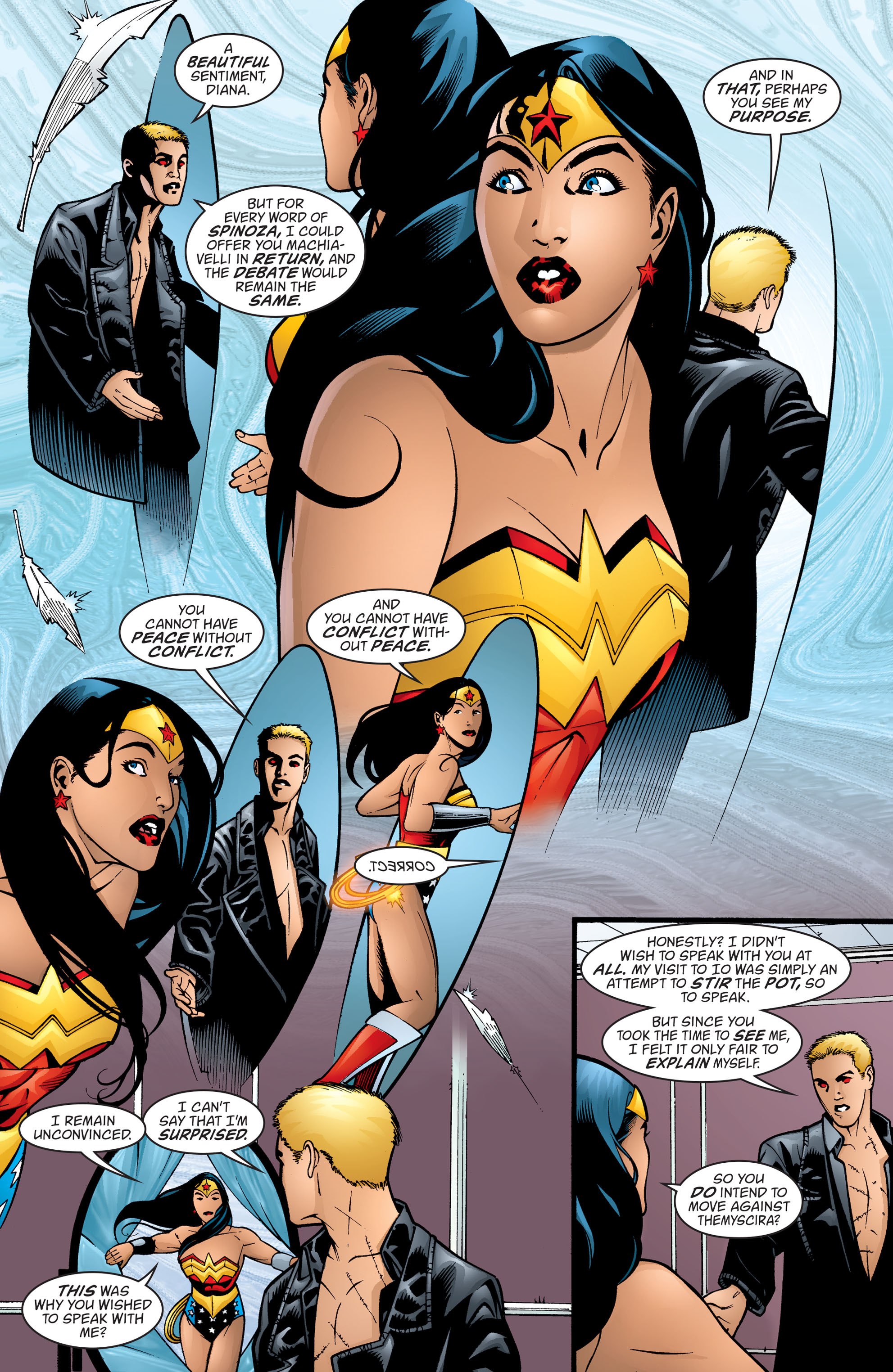 Read online Wonder Woman (1987) comic -  Issue #199 - 17