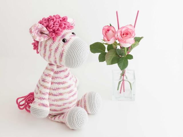 amigurumi-zebra