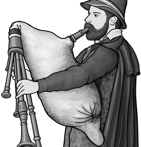 zampogna (Italian bagpipes)