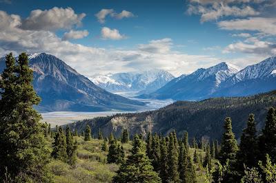 przyroda, natura, powstanie świata, mitologia, geneza mitu, bricolage, góry