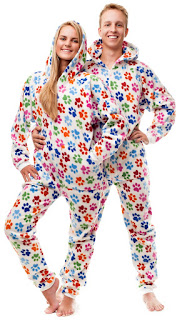 novelty footed pajamas
